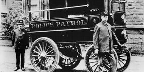 Police Vehicles: A Look Back