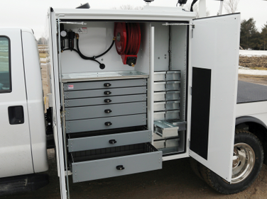 The American Eagle Heavy-Duty Aluminum Drawer Systems provide heavy-duty mobile storage, with...