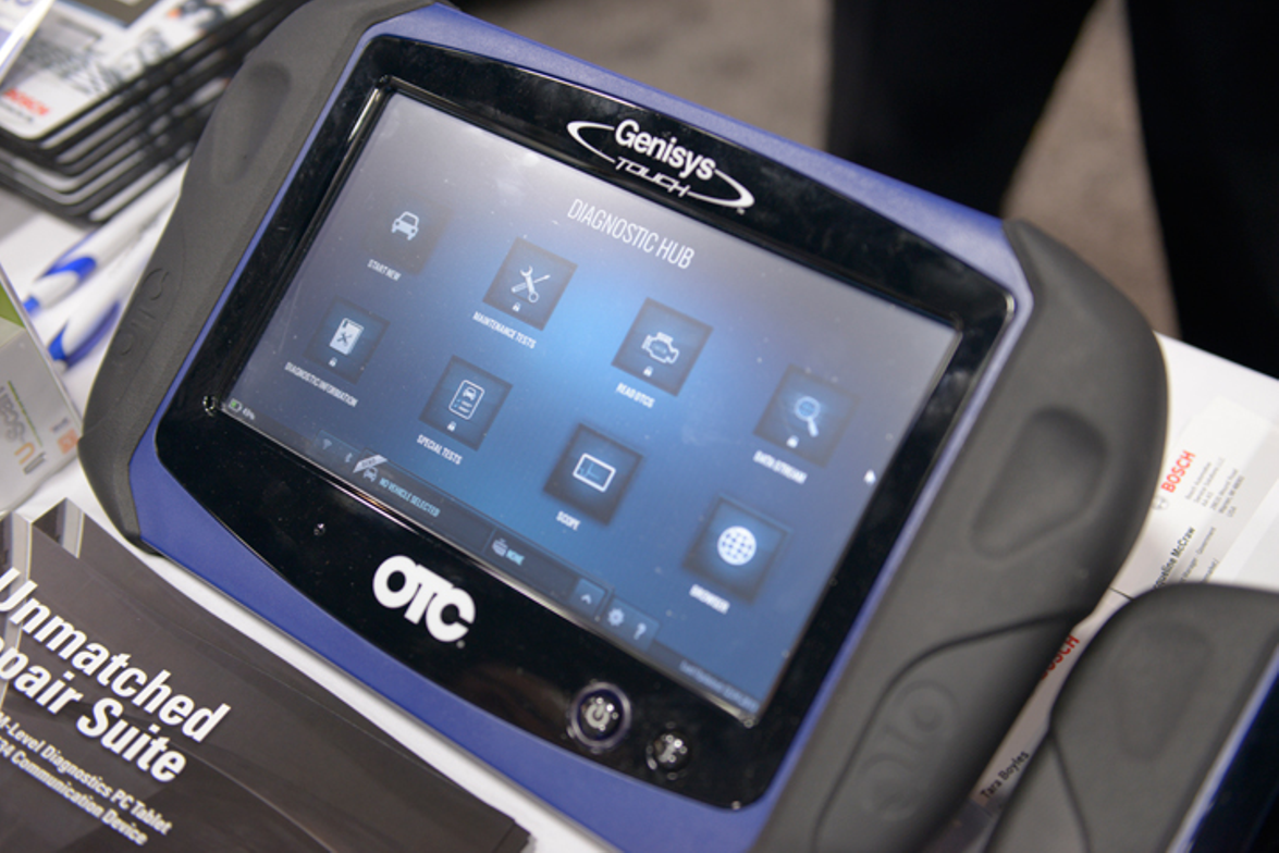 Bosch offers its Encore diagnostic tool.