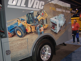 More than 2,400 vendors display product, including Sage Oil Vac, a mobile lube equipment company...