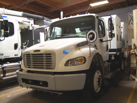 This Schwarze M6 Avalanche mechanical sweeper will be delivered to the City of Lancaster, Calif....