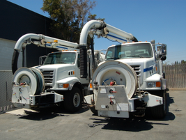 These are trucks that have been taken in on trade and will be sold or can be used as a rental...