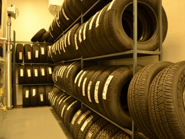 The fleet has tire inventory valuing about $15,000.