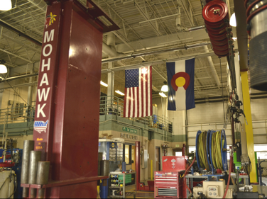 The Town of Castle Rock fleet is an ASE Blue Seal facility.