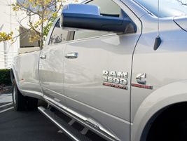 The truck is powered by Cummins' 6.7L inline-six turbo diesel paired with an 8-speed transmission.