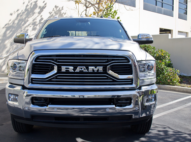 Ram added a redesigned X-style grille for 2016.