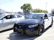 Ford's Police Interceptor was on display.