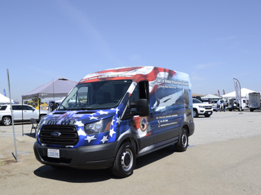 Riverside County's Veteran's Services vehicle is used for outreach and was put in service just...