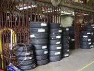 About 300 tires are kept in inventory at all times.Tires are usually ordered 100 at a time due...