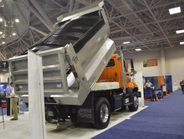 Highway Equipment Company's XT3 multi-purpose dump body can be used to spread salt and sand and...