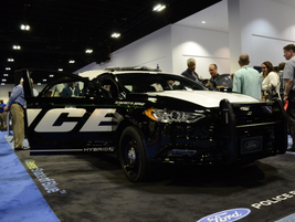 Ford's Police Responder Hybrid pursuit-rated sedan concept