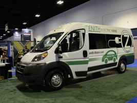 The Zenith Motors electric cargo van eliminates gasoline costs, reduces maintenance costs, and...