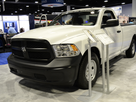 The 2017 Ram 1500 Tradesman is available in 4X4 or 4X2 options.