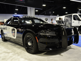 The 2017 Dodge Charger Pursuit AWD features a5.7L V-8 HEMI MDS VVT engine and five-speed...