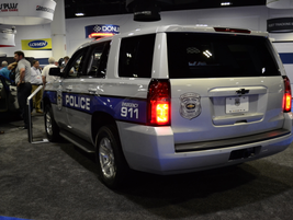 The 2017 Chevrolet Tahoe PPV is the only full-size, body-on-frame pursuit-rated SUV.