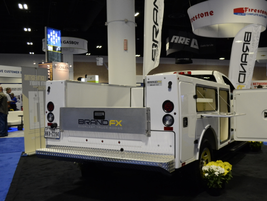 BrandFX's Everlast truck body is pictured here on the Chevrolet Silverado.