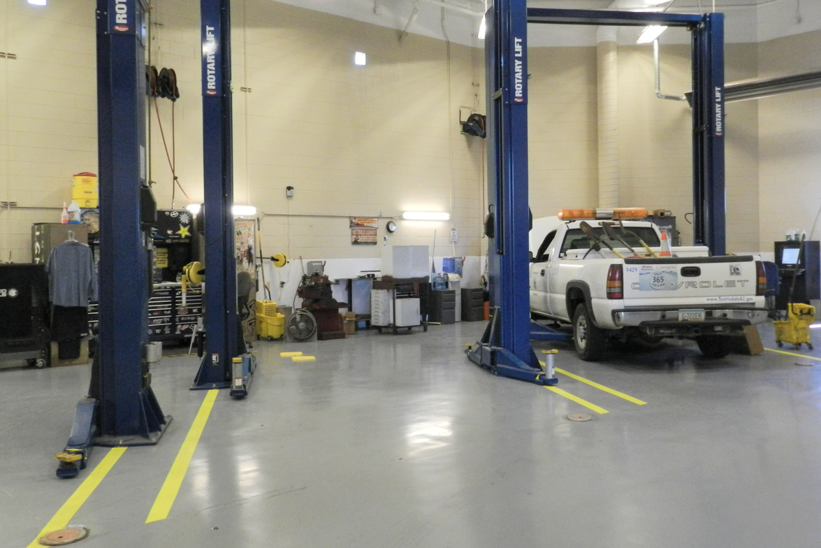 While the main facility is primarily used for heavy-duty maintenance and repair, there is also a...