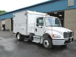 Dejana's specification for its Gas Maintenance Truck was designed as a custom Dejana Durabox Max...