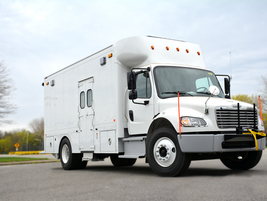 Dejana's specification for its Service/Maintenance Truck was designed to be used by transit and...