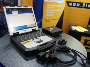The TEXA Truck Diagnostic Tool from Diesel Laptops offers dealer-level functionality on all...