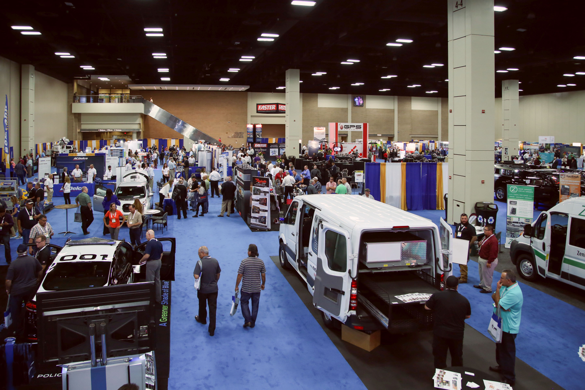 The 2017 Government Fleet Expo & Confernce expo hall had 120 exhibitors.