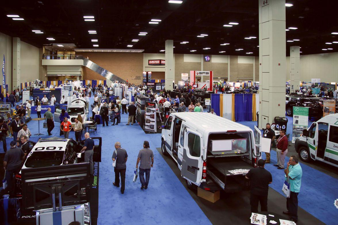 The 2017 Government Fleet Expo & Confernce expo hall had 120 exhibitors.