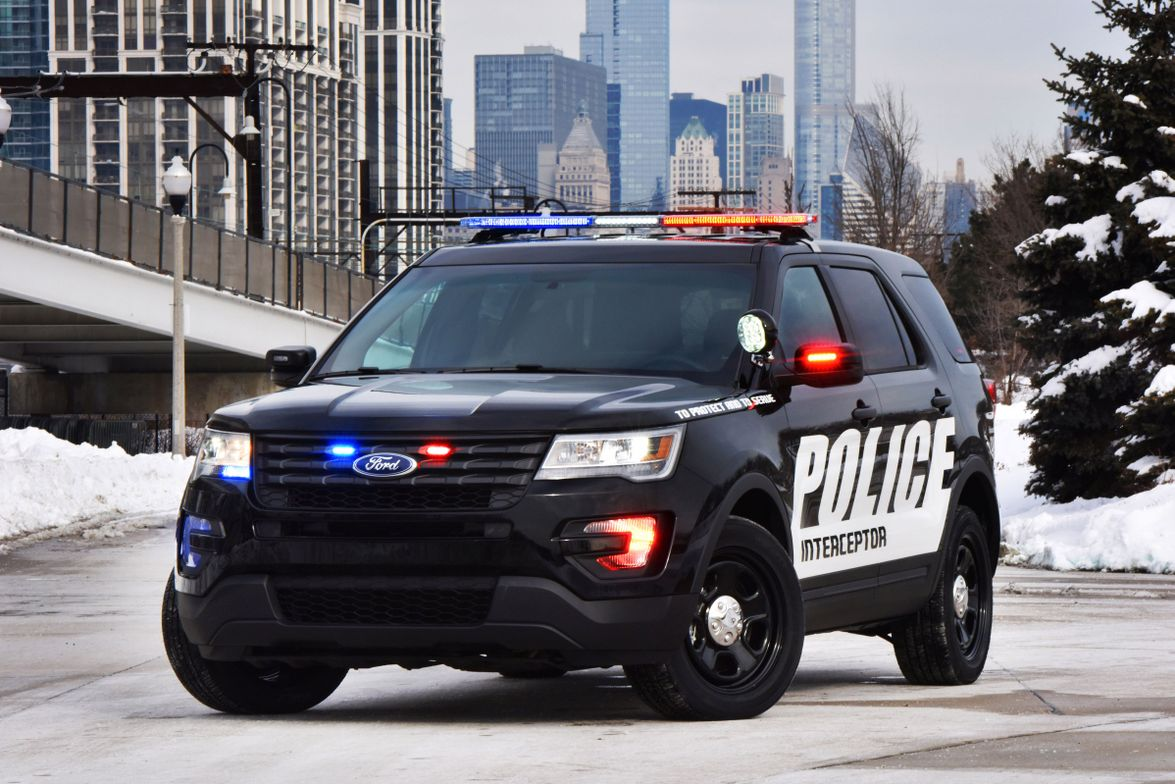 The Ford P.I. Utility is America's top-selling patrol vehicle.