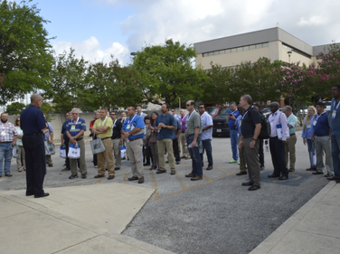 The pre-conference tour of the San Antonio, Texas, fleet facility drew 136 attendees, broken...