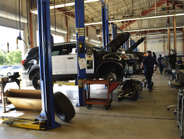 The police garage services more than 1,350 units, including more than 650 police pursuit vehicles.