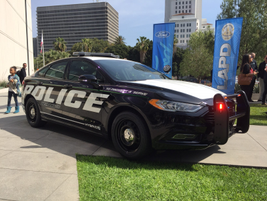 The Police Responder Hybrid is one of two hybrid police vehicles that Ford plans to release by...