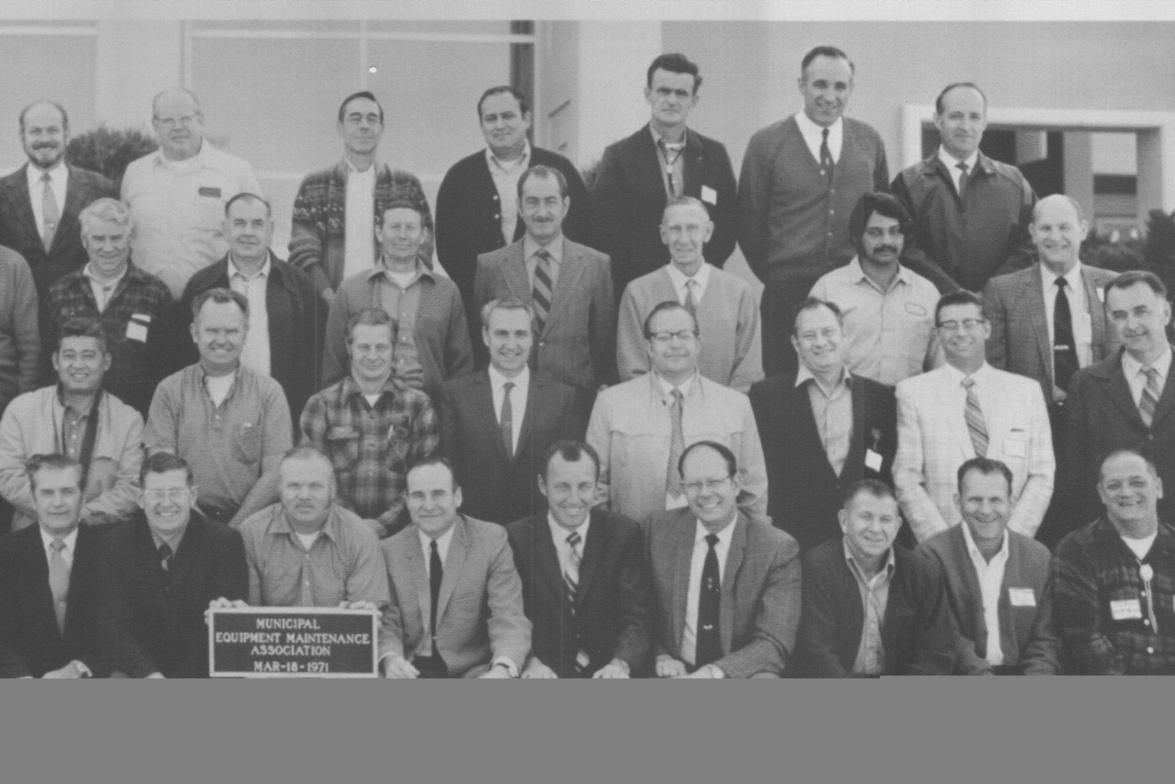 MEMA members in 1971.