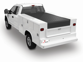 The Retractable Utility Bed Cover (RUBC) by Pace Edwards uses a special adaptor that allows it...