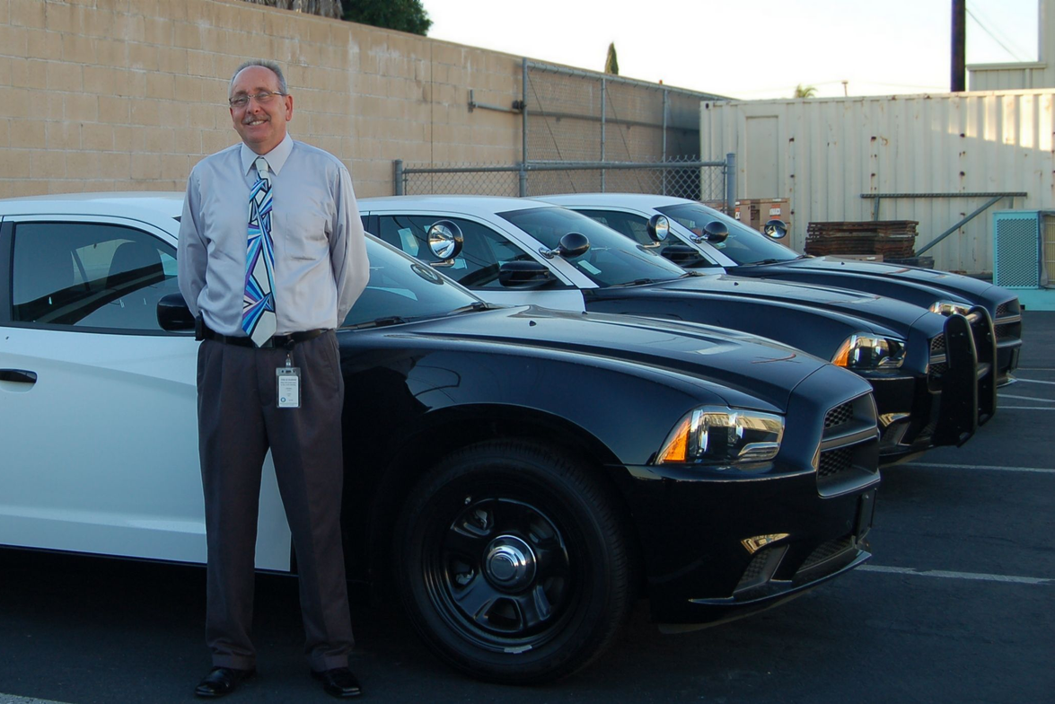 Ron Lindsey began his post as City of Anaheim fleet superintendent in February 2012. Here he...