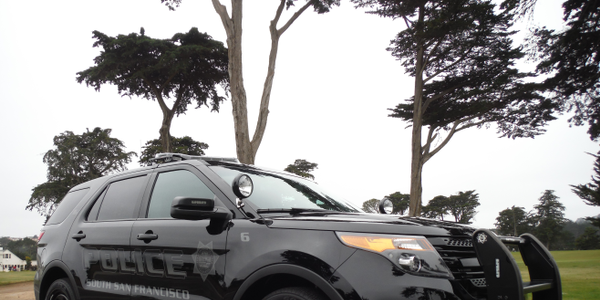 The ghost vehicles have proven popular enough with officers that South San Francisco Police...