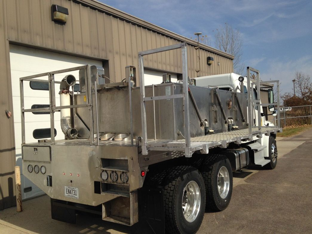 Fish Transport The Minnesota Department of Natural Resources uses this fish transport truck to...