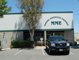 MME's southern California office is located in Placentia. The dealership sells equipment that...