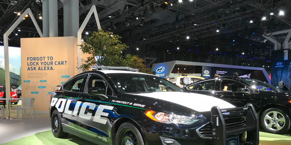 Ford revealed the Police Responder Hybrid Sedan concept vehicle in April 2017. Read the full...