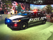 The Police Responder Hybrid Sedan is part of Ford's $4.5 billion global push for electrification.