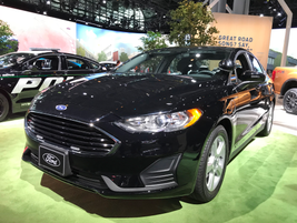 The Ford Special Service Plug-In Hybrid Sedan concept vehicle was first announced in November...