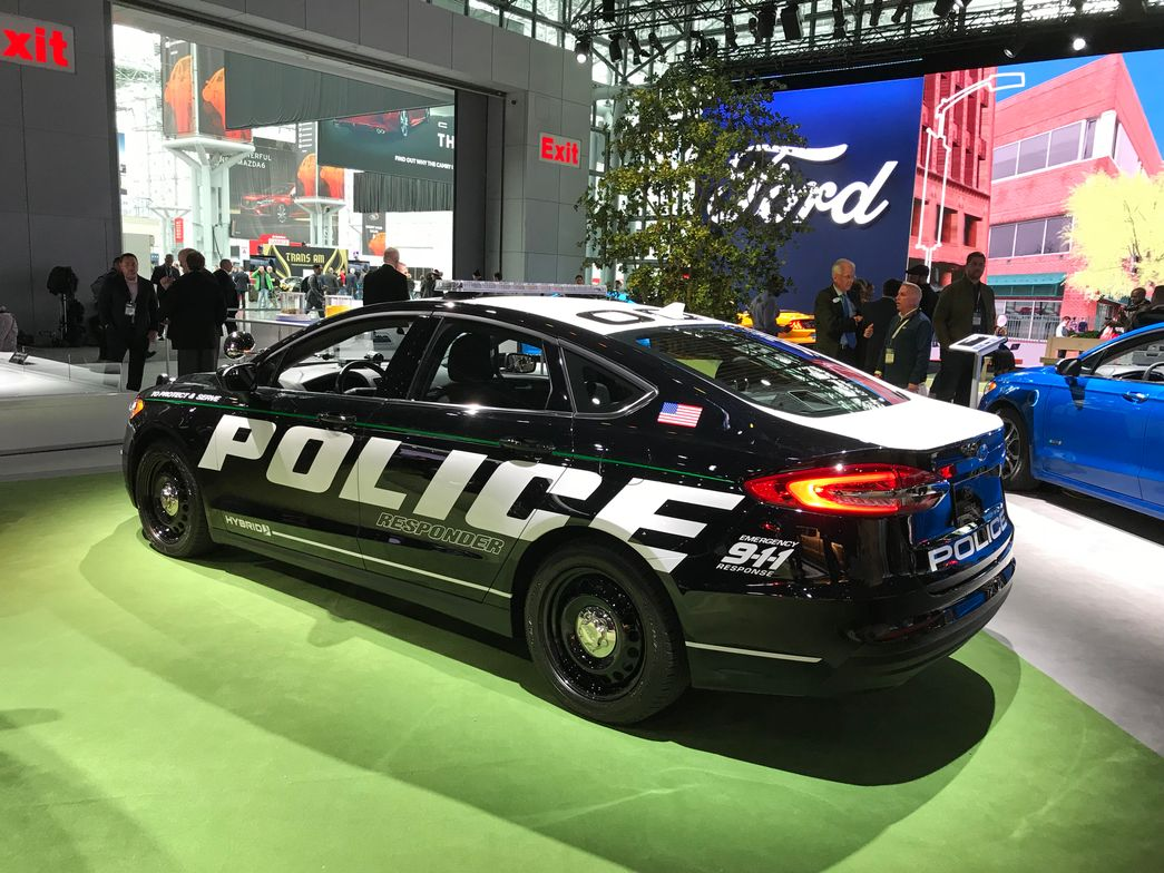 When first introduced last year, this vehicle was named the first pursuit-rated hybrid vehicle,...