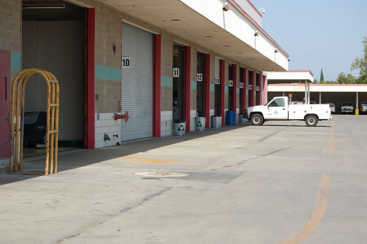 The fleet has one main maintenance facility that also includes central storage.