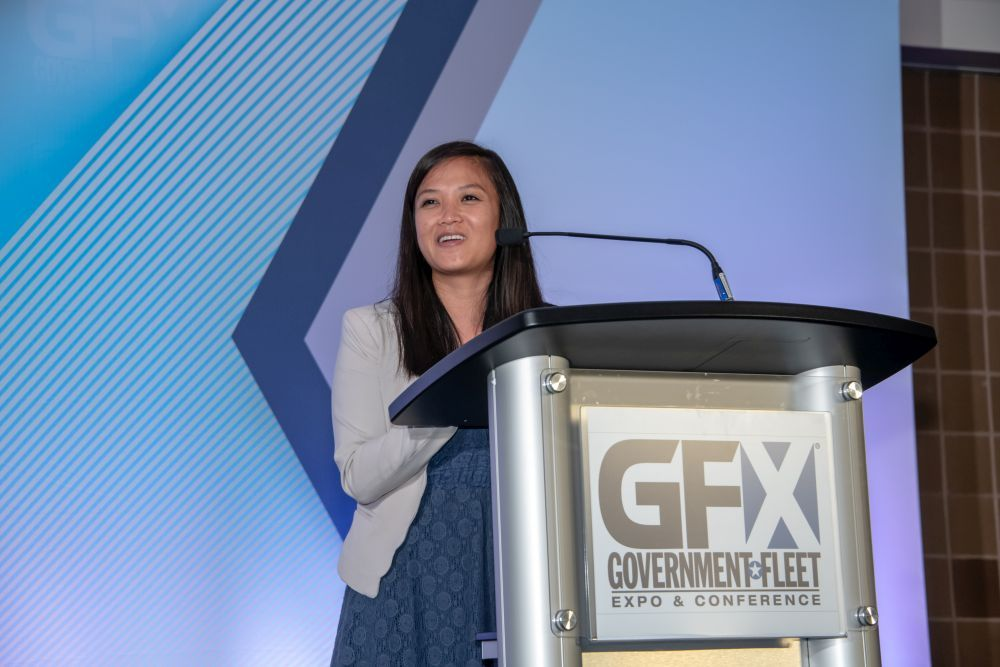 Government FleetExecutive Editor Thi Dao welcomed the newest inductees to the stage.