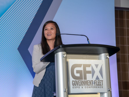 Government Fleet Executive Editor Thi Dao welcomed the newest inductees to the stage.
