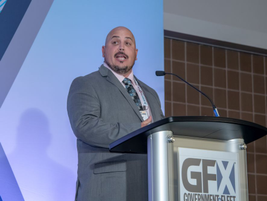 Denver Director of Fleet Management Brad Salazar accepted the No. 1 Fleet award with his team.