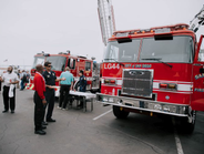 The City of San Diego and County of San Diego, OEMs, and other companies displayed vehicles at...