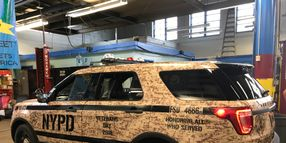 NYPD's Special-Occasion Wrapped Police Cars