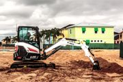 Bobcat's E26 compact excavator features a24.8-hp diesel engine does not require a diesel...