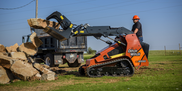 The Ditch Witch SK3000 skid-steer is the most powerful stand-on skid steer in its class. It has...