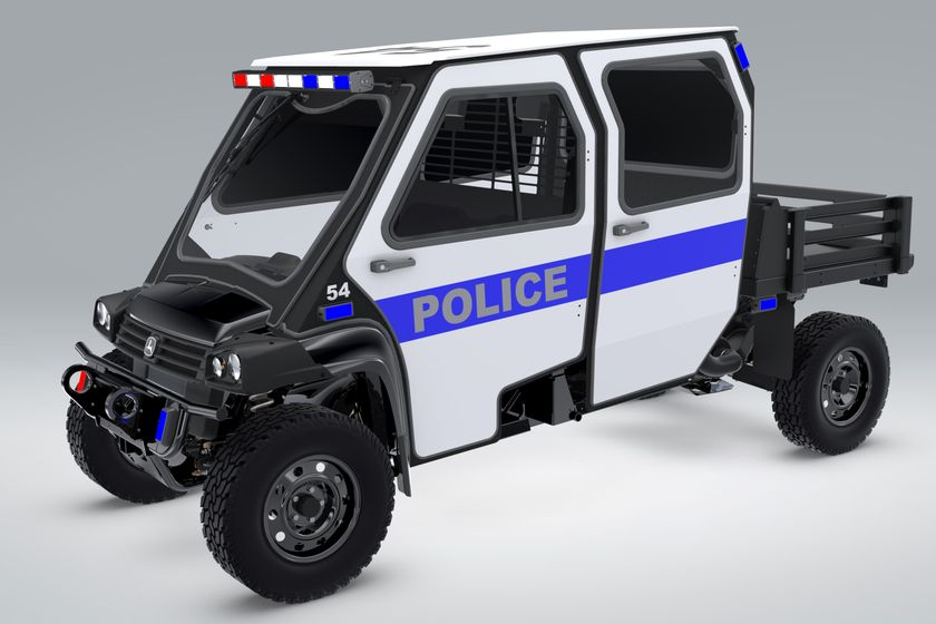 John Deere Introduces Special Application Vehicles for First Responders