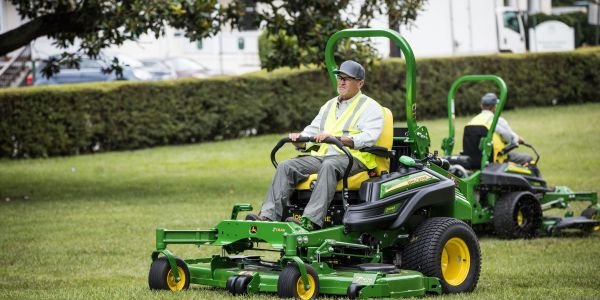 The Z994R mower is powered by a Final Tier 4, three-cylinder, liquid-cooled diesel engine with...